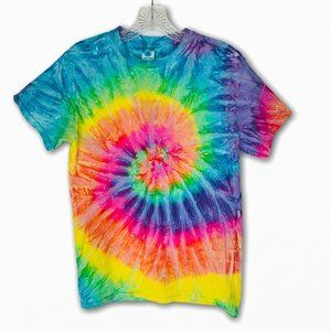 Good Vibes Tie Dye Relaxed Tee S